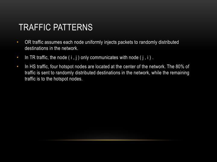 traffic patterns