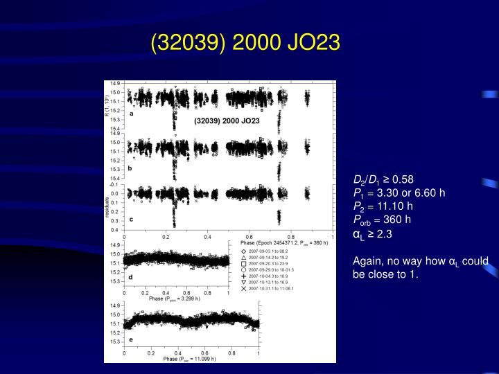 (32039) 2000 JO23
