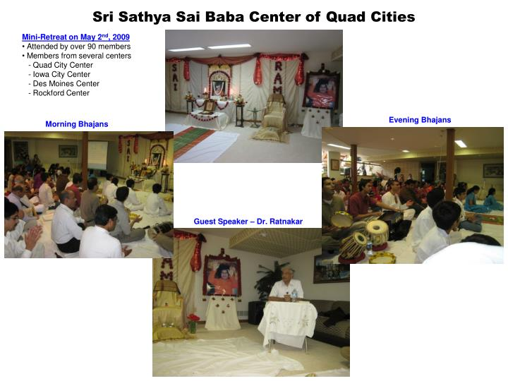 Sri sathya sai baba center of quad cities1