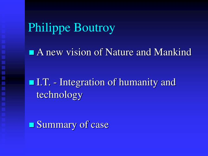 Philippe Boutroy