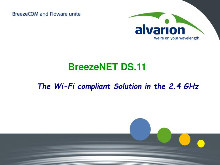 BreezeNET DS.11