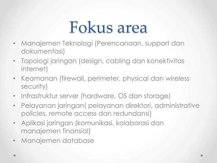 Fokus area