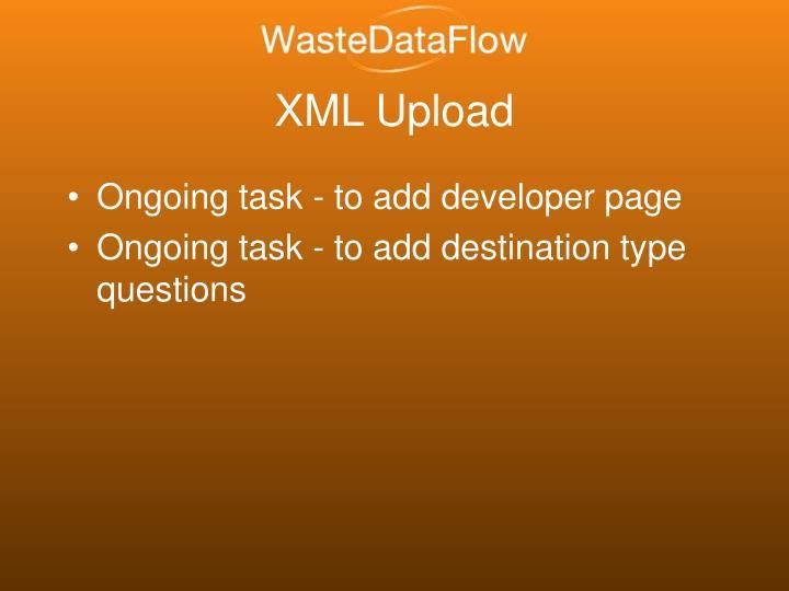 XML Upload