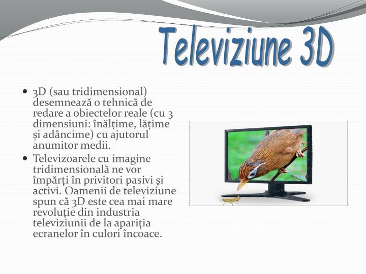Televiziune 3D