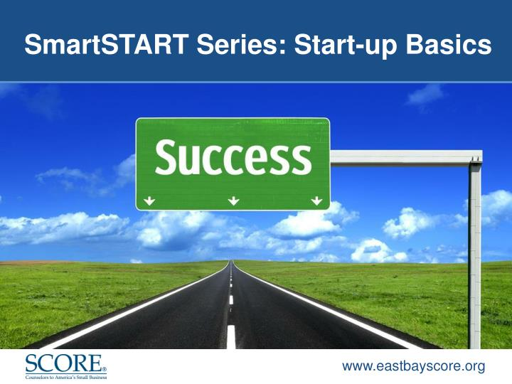 SmartSTART Series: Start-up Basics
