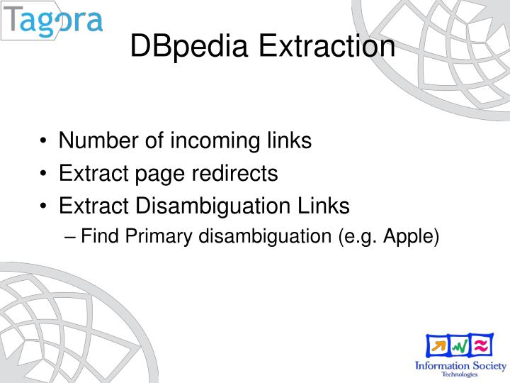 DBpedia Extraction