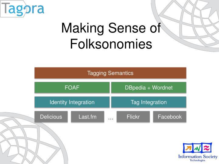Making Sense of Folksonomies