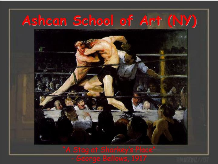 Ashcan school of art ny