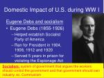 domestic impact of u s during ww i3