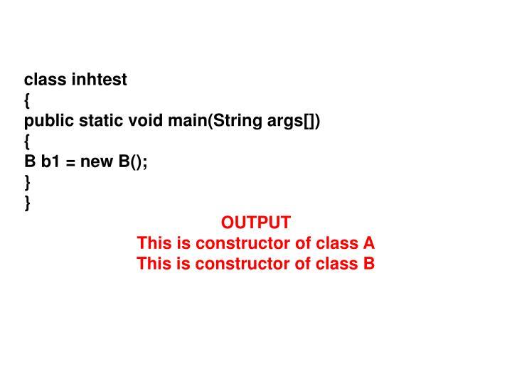 class inhtest