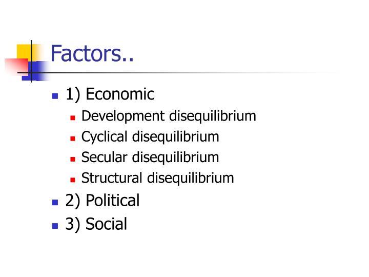 Factors..