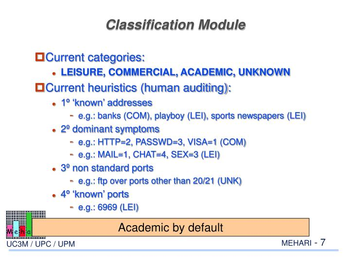 Classification Module