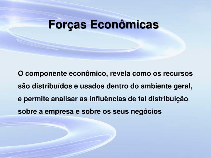 Forças Econômicas