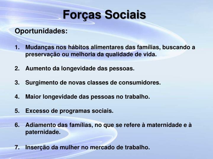 Forças Sociais