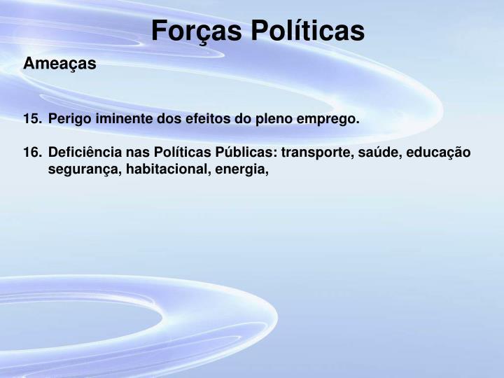 Forças Políticas
