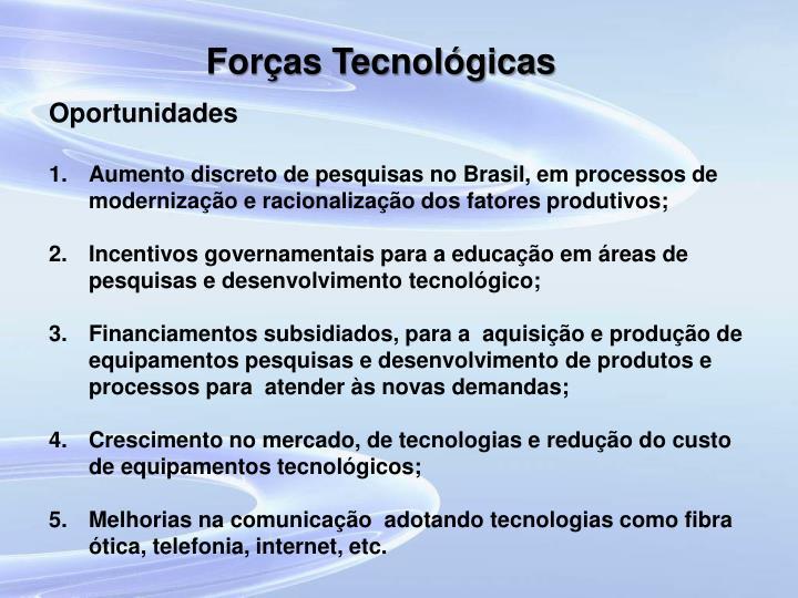 Forças Tecnológicas