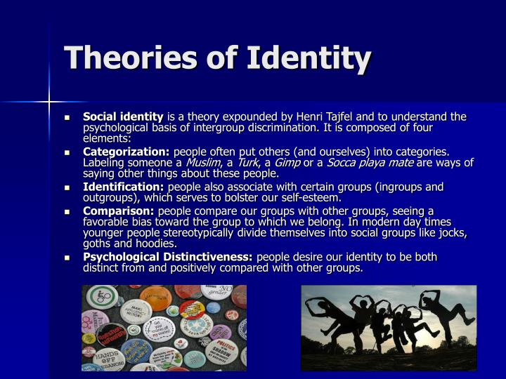 Theories of Identity