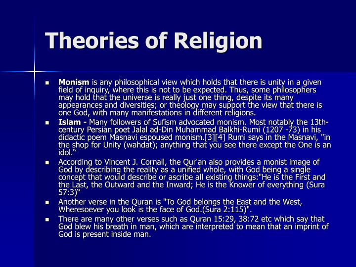 Theories of Religion