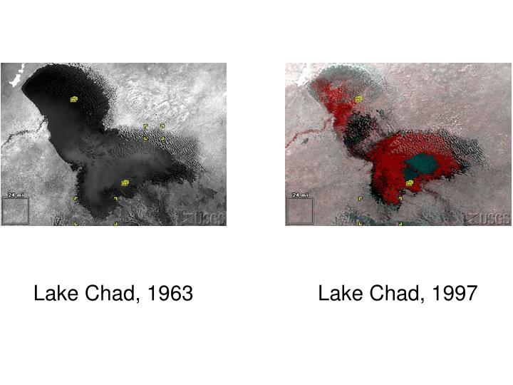 Lake Chad, 1963