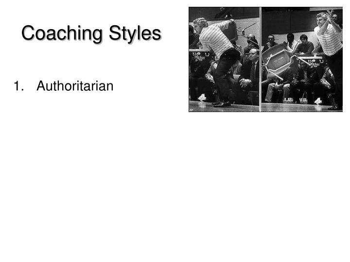 Coaching Styles