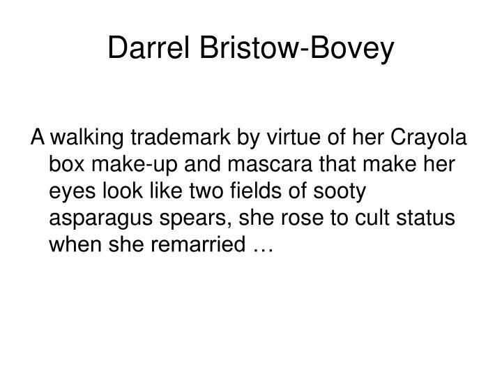 Darrel Bristow-Bovey