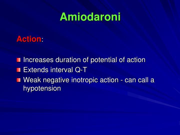 Amiodaroni