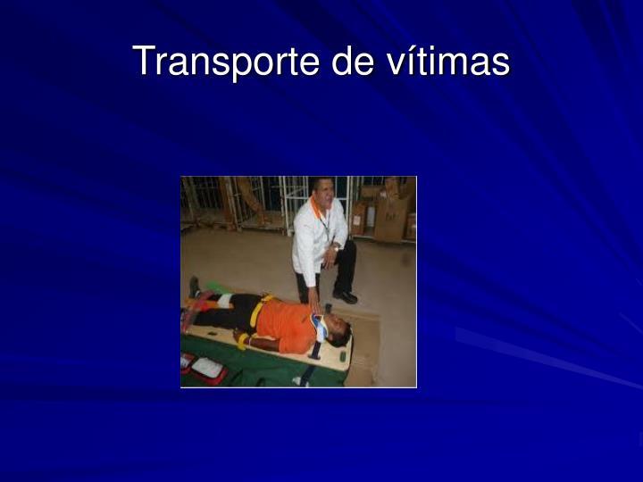 Transporte de vítimas