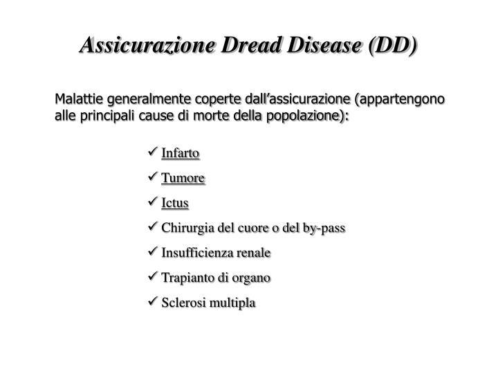 Assicurazione Dread Disease (DD)
