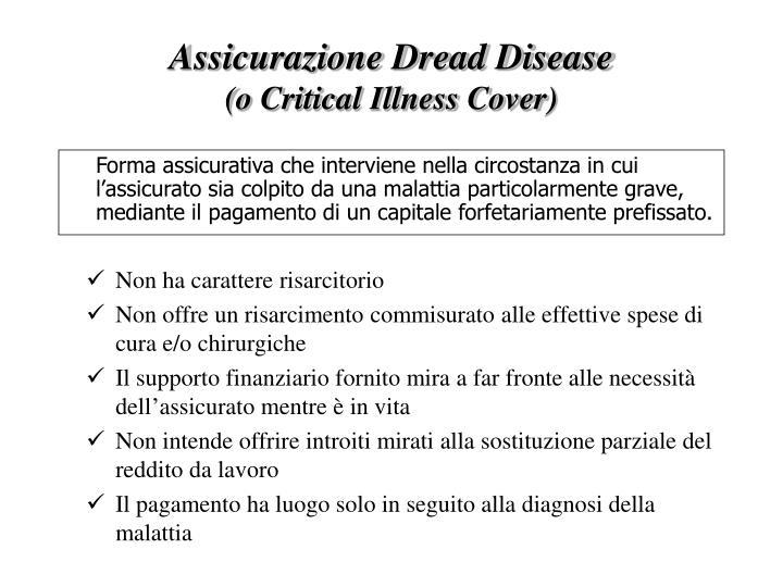 Assicurazione Dread Disease