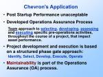 chevron s application