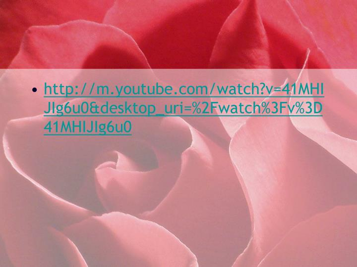 http://m.youtube.com/watch?v=41MHIJIg6u0&desktop_uri=%2Fwatch%3Fv%3D41MHIJIg6u0