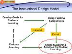 the instructional design model1
