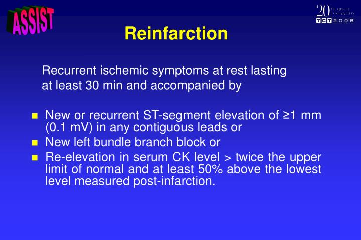 Reinfarction