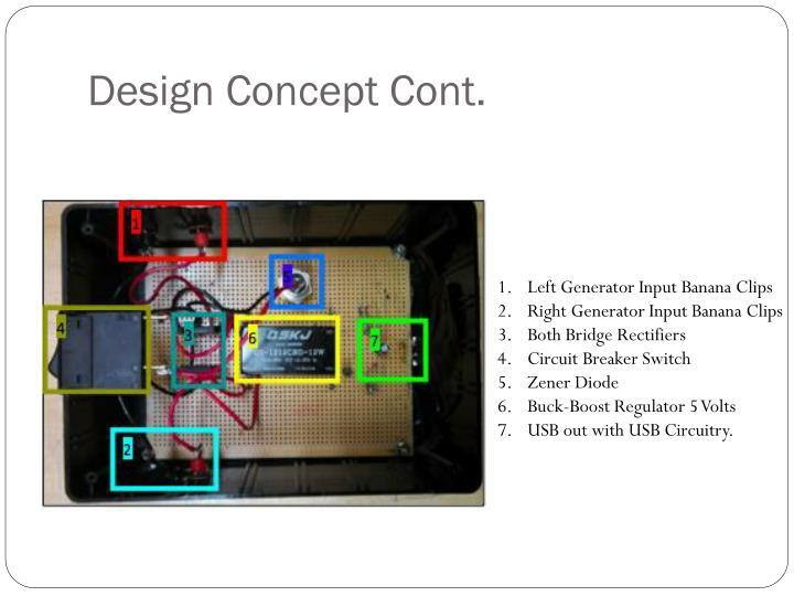 Design Concept Cont.