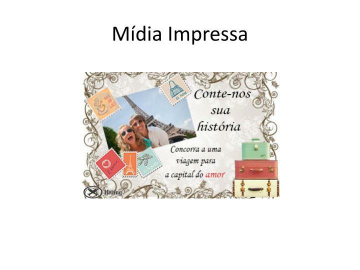 Mídia Impressa