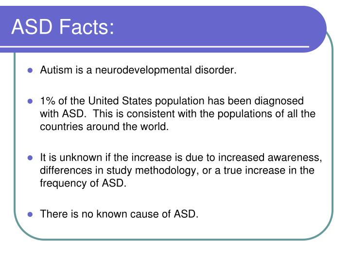ASD Facts: