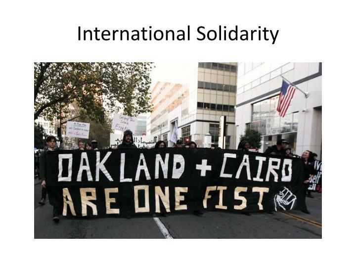 International Solidarity