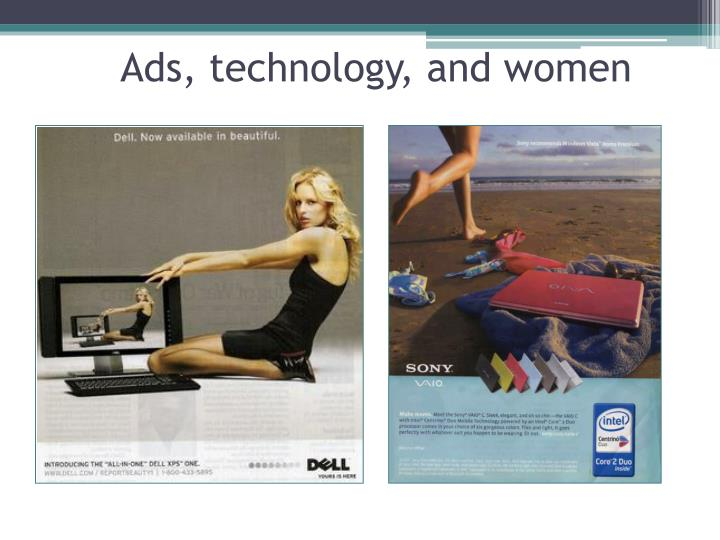 Ads, technology, and women