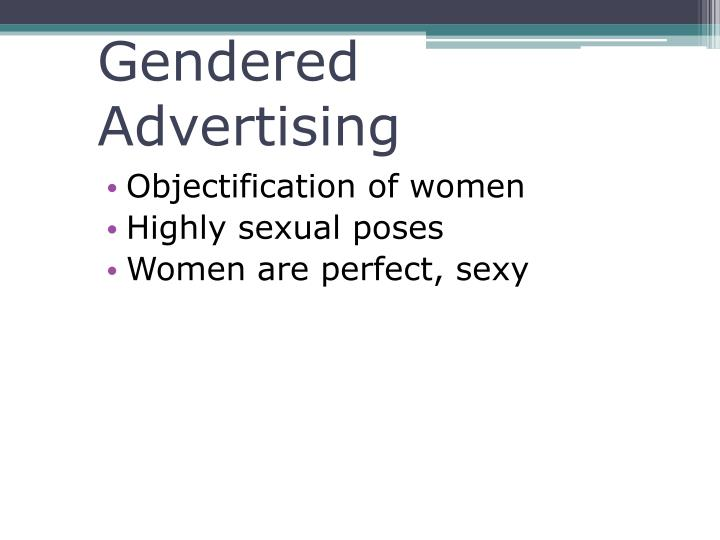Gendered  Advertising