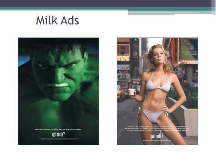 Milk Ads