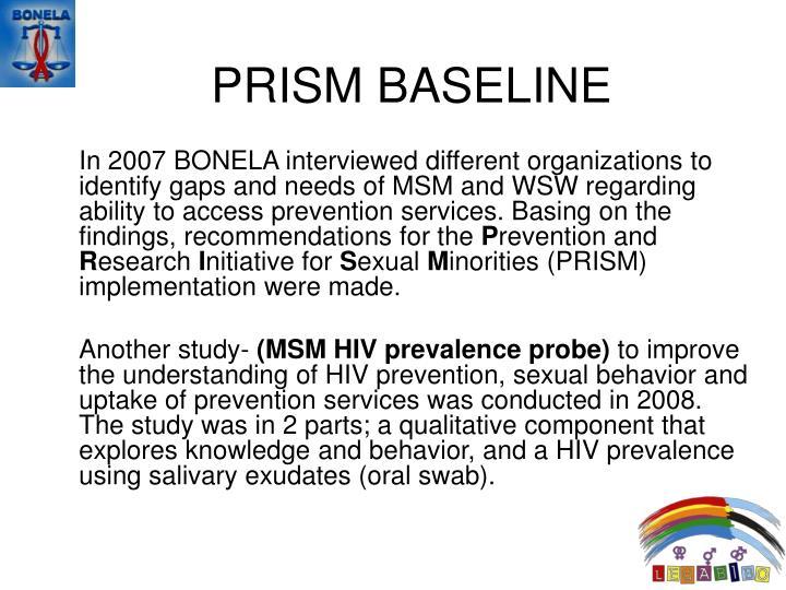 PRISM BASELINE