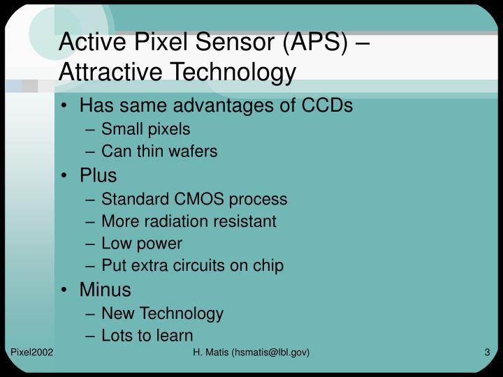 Active Pixel Sensor (APS) –