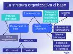 la struttura organizzativa di base1