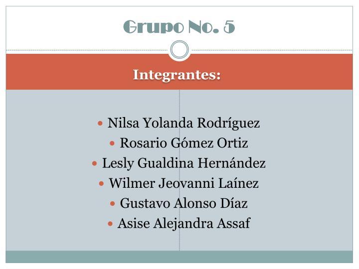 Grupo No. 5