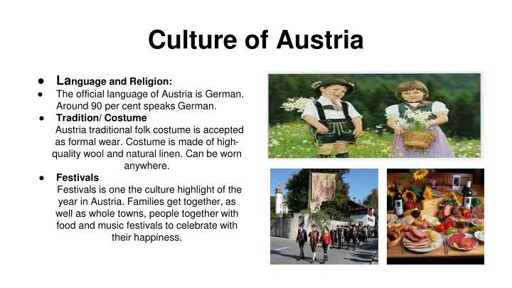 Culture of Austria