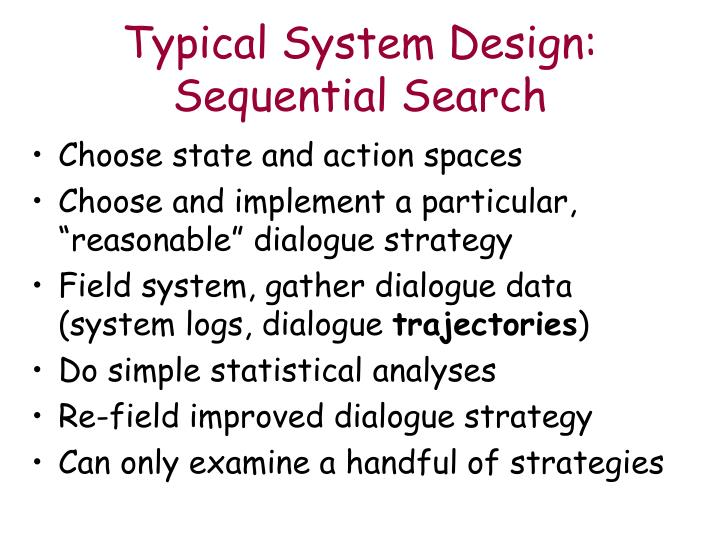 Typical System Design: