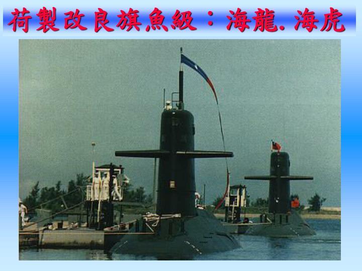 荷製改良旗魚級:海龍