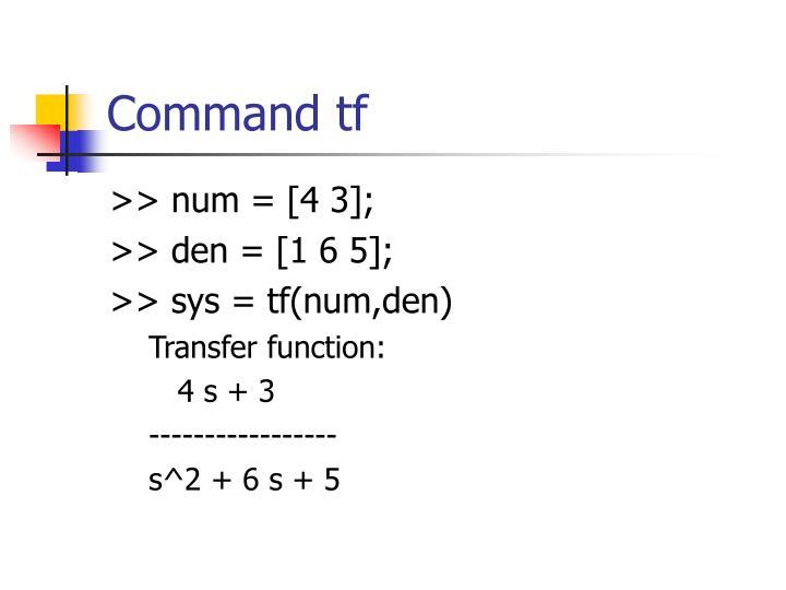 >> num = [4 3];