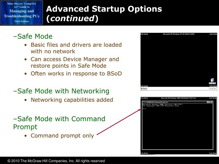 Advanced Startup Options (