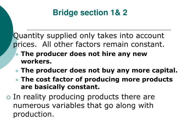 Bridge section 1& 2